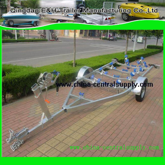 Manufacturer Supply Hydraulic Galvanized Heavy Duty 5.5m Boat Trailer (BCT0106) pictures & photos