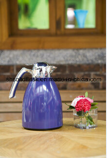 Solid Stainless Steel Vacuum Coffee Pot/Kettle with Glass Refill pictures & photos