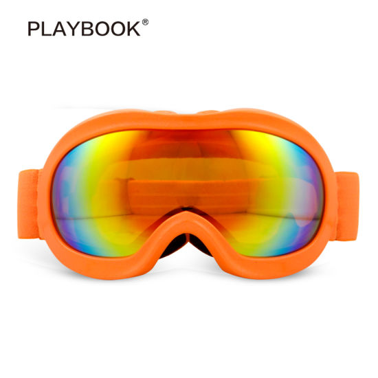 High Quality Snowboard Sports Eco-Friendly Anti-Fog Children Ski Goggles
