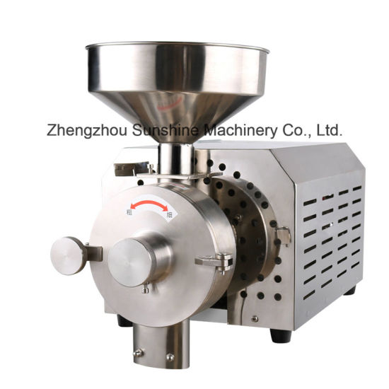 Mung Red Bean Commercial Electric Herb Chili Wheat Grinding Machine pictures & photos