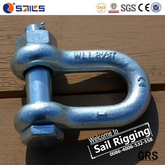 Us Type G2150 Forged Bolt Chain Shackle pictures & photos
