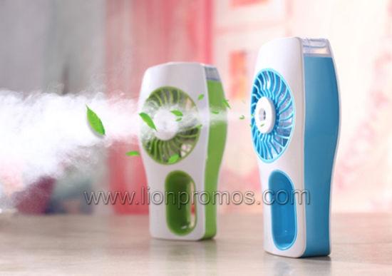 Summer Lady Gifts Hand Held Mist Spray Fan for Women Girl