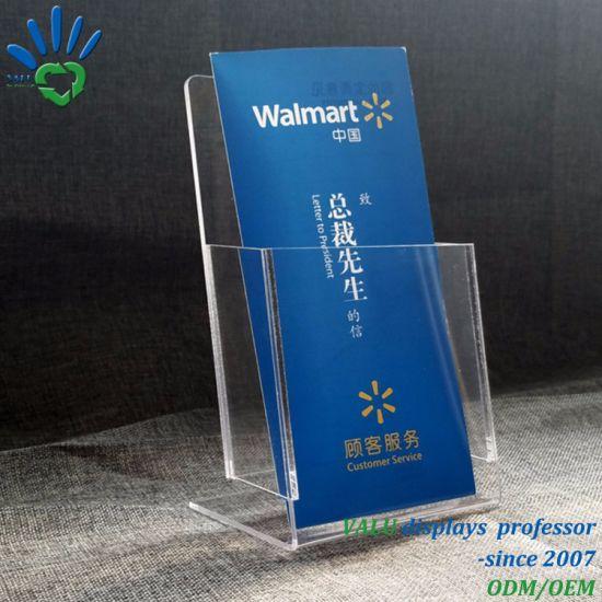 China Single Pocket Acrylic Brochure Display Holder Perspex Flyer Extraordinary Acrylic Flyer Display Stand