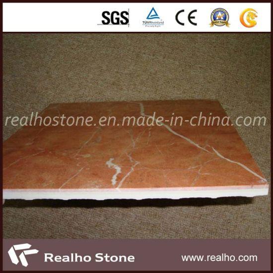 Rojo Alicante Marble Ceramic Composite Flooring