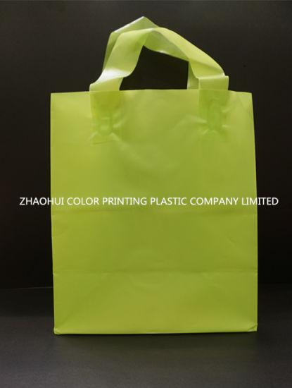 Loop Handle Bag, Plastic Bag, Shopping Bag, Gift Shopping Bag