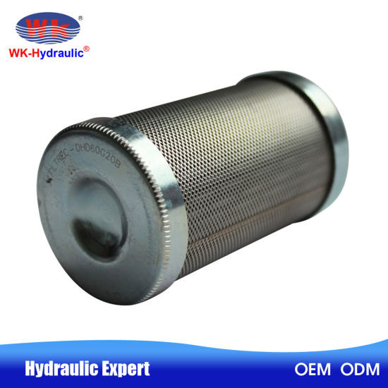 China Metal Mesh 60 Micron Machine Oil Hydraulic Filter