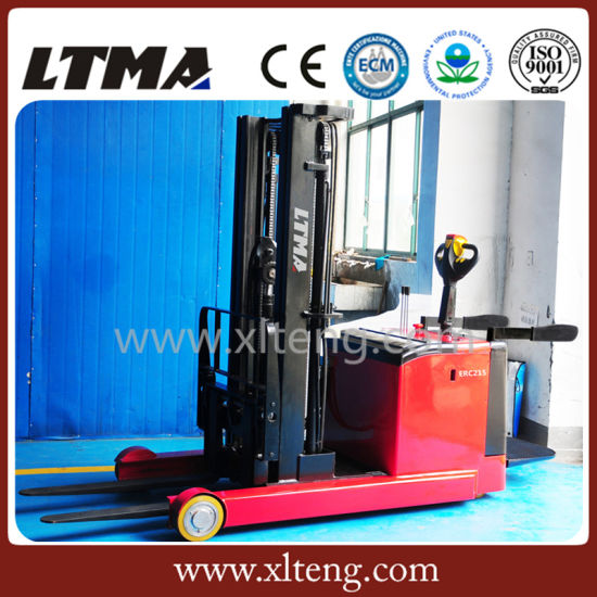 Ltma Stacker 1.5t Electric Reach Stacker Price pictures & photos