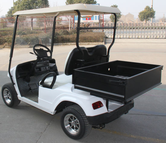 China Four Wheel Hot Sale Electric Golf Cart with Cargo Box - China on four seater buggies, four seater club car, four seater polaris ranger, four seater golf cart bodies,