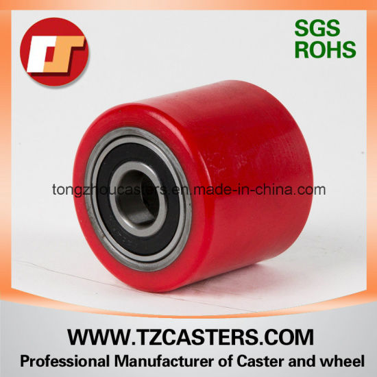High Quality PU Roller with Cast Iron Center, Diameter70-85mm