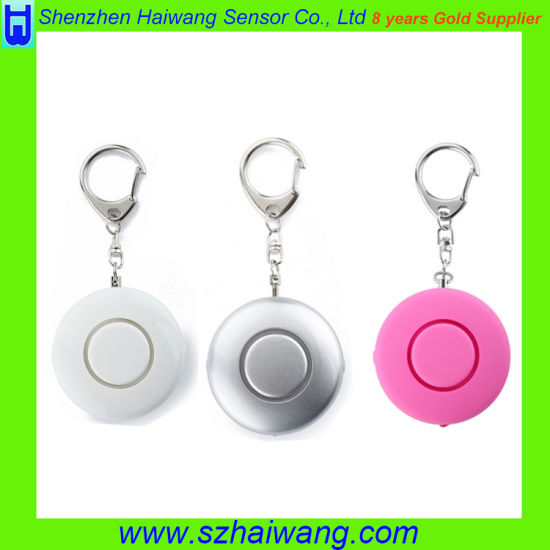 125dB Aloud Lady Kids Anti-Rape Anti-Attack Personal Alarm with Keychain pictures & photos