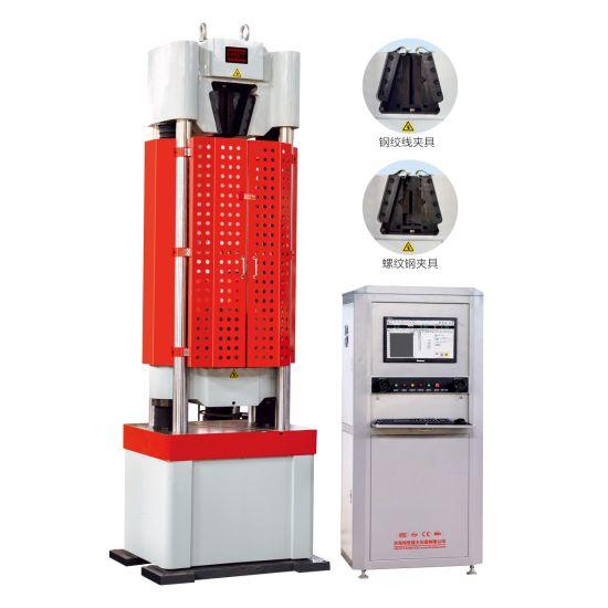 Computer Metal Bar Electronic Servo Hydraulic Universal/Tensile/Compression/Bending Testing Equipment