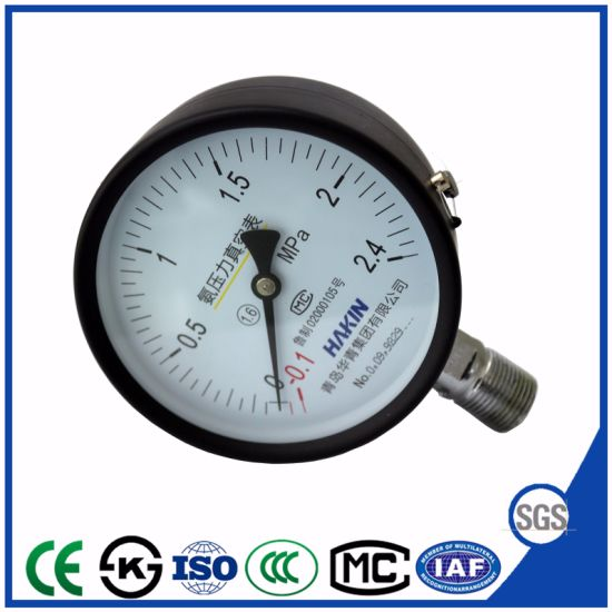 Hot Selling Pressure Gauge for Ammonia of Instrument Manometer pictures & photos