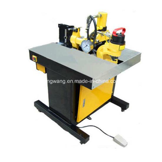 Three-in-One Multifunction CNC Copper Busbar Bending Cutting Punching Machine/Busbar Processing Tools