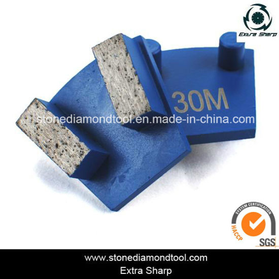 Concrete Werkmaster Grinding Metal Diamond with 2 Pins pictures & photos