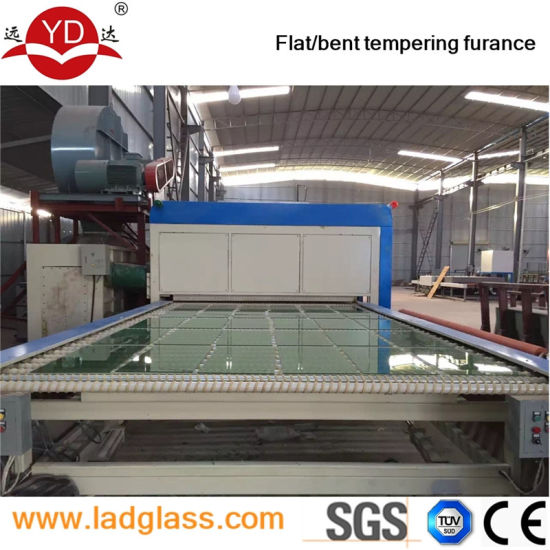 Comparative Advanced Soft Low-E Curtain Glass Tempered Machine Price pictures & photos