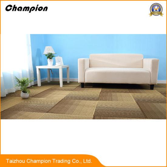 China Dm00 Pvc Indoor Stadium Carpet Tiles With Good Water