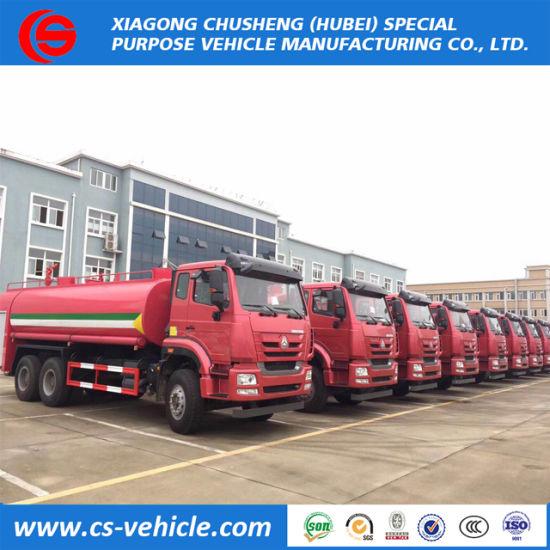 LHD/Rhd Sinotruk HOWO Water Spraying 4ton/5ton/8ton/20t Water Tanker Truck