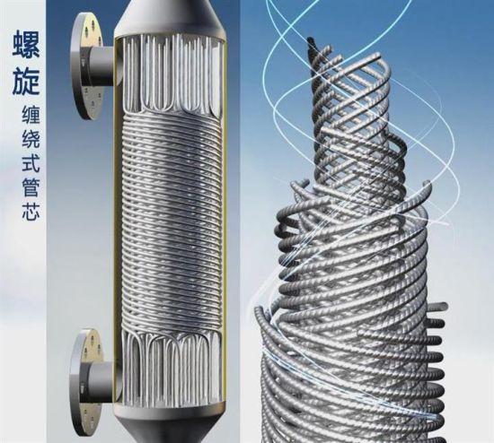 China Spiral Wound Pipe Heat Exchanger