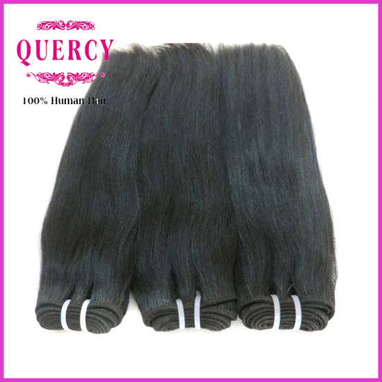 Whole Double Drawn 8a Grade High Quality Brazilian Straight Human Hair Extensions