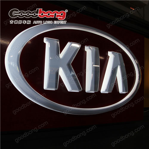 Vacuum Forming Acrylic Cleaning Car Logo Sign pictures & photos