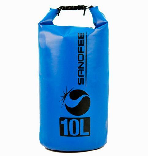Hot Sale Surfing 10L PVC Dry Bags Waterproof Bag for Outdoor Camping pictures & photos