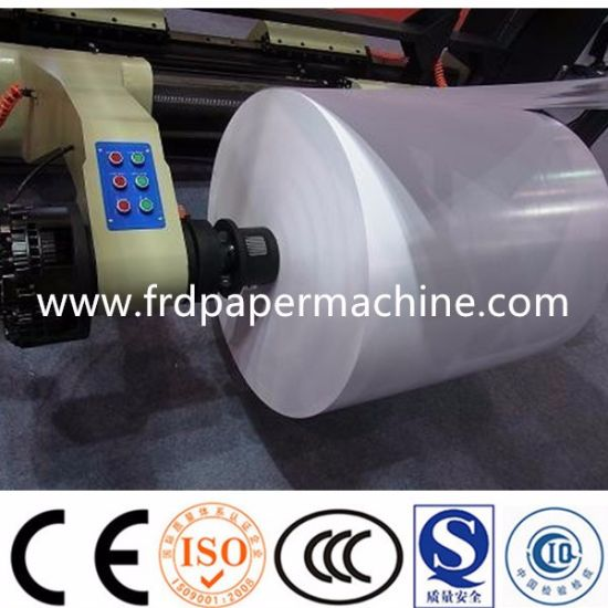 1760mm China Writing Paper A4 Copy Paper Jumbo Rolls Manufacturing Equipment Roll Making Machine
