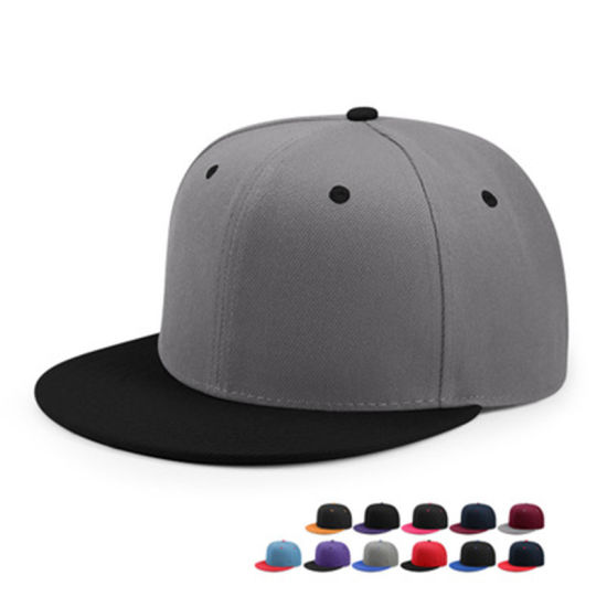 Custom New Fashion Color Snapback Flat Cap pictures & photos