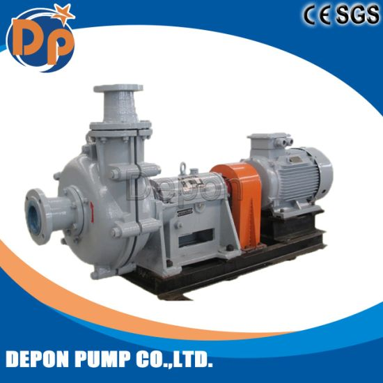 Filter Press Feed Mineral Processing Centrifugal High Head Slurry Pump pictures & photos