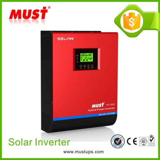 Must PWM High Efficiency 5kVA DC 48V to AC 220V Pure Sine Wave Solar Inverter pictures & photos