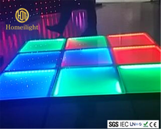 RGB Dyeing Dancing Floor for Disco Nightclub Party