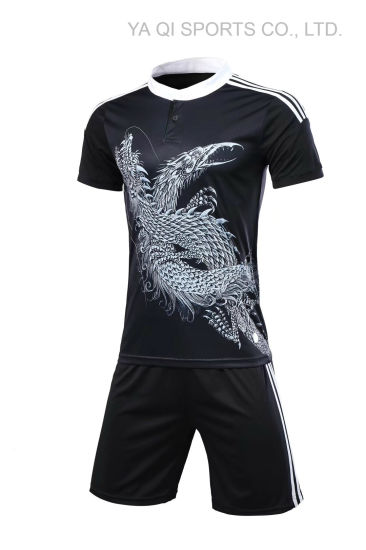 0ce46e7d 100% Polyester Mesh Football Jersey Fabric Unbranded Soccer Jersey Custom  Own Design Soccer Uniform