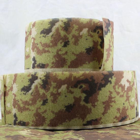 Custom Printed Nylon Hook and Loop, Camouflage Hook & Loop