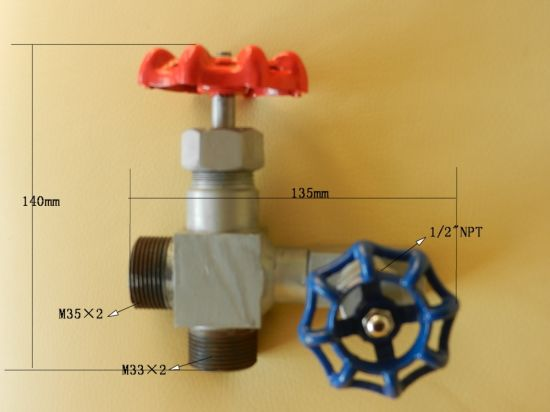 Angle Type Globe Needle Valve Pressure Gage Needle Valve Ferrule Needle Valve pictures & photos