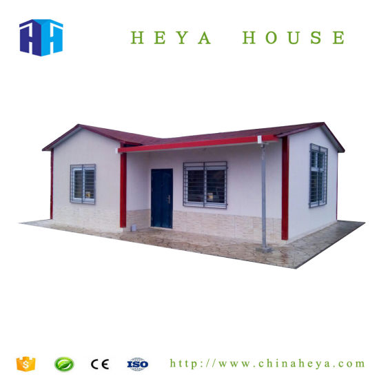 China Hurricane Proof Steel Frame Homes Pre Built House Construction ...