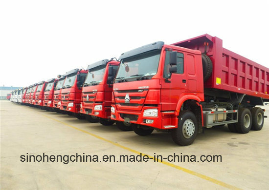 Sinotruk / Cnhtc HOWO 6X4 Heavy Duty Dump / Dumper Truck / Tipper Truck / Truck 371HP