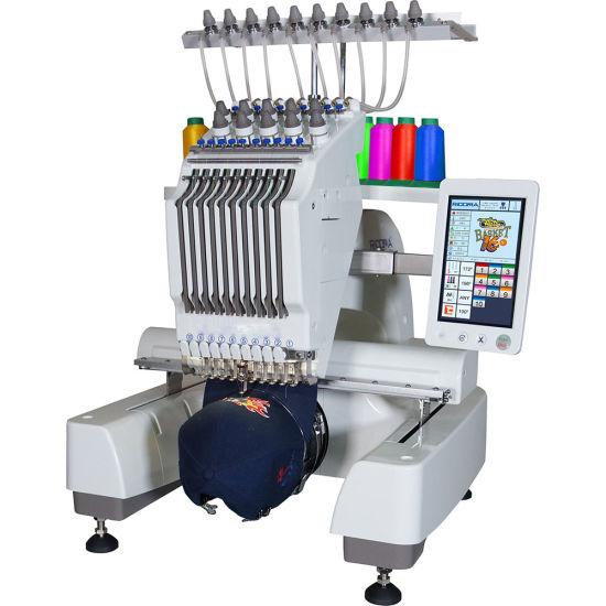 Single Head 6/9/12/15 Needles Computerized Embroidery Machine Price in China Similar as Tajima and Brother 1 Head Embroidery Machine Prices
