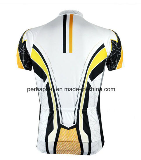 Anti-UV Unisex Cycling Jersey with Quick-Drying pictures & photos