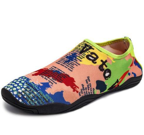 Factory Manufacturer Surfing Diving Shoes Barefoot Swimming Shoes Beach Aqua Walk on Men Water Shoes