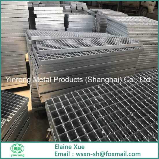 Galvanized Metal Bar Grating for Steel Structure Floor pictures & photos