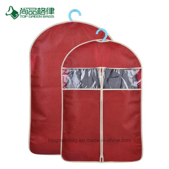 China Promotional Shopping Non-Woven Garment Suit Cover pictures & photos