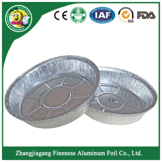 Aluminum Foil Container Tray Plate for Barbecue pictures & photos