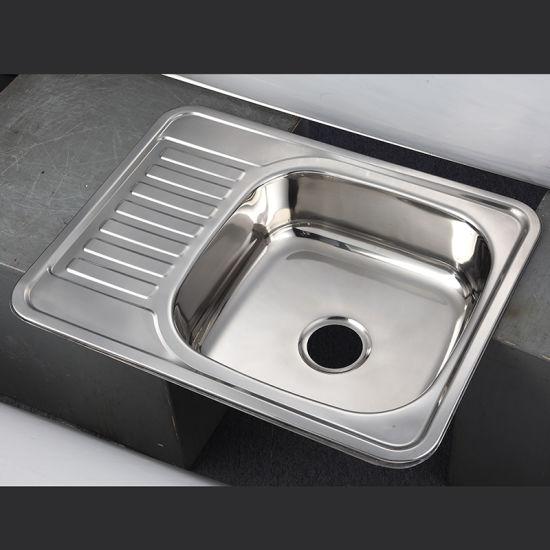 6550 top mount sink drop in stainless steel kitchen sinks - Drop In Stainless Steel Kitchen Sinks