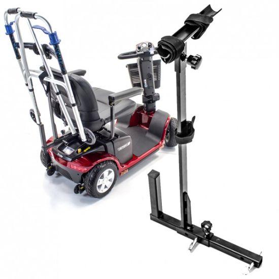 Metal Walker Holder for Mobility Scooter