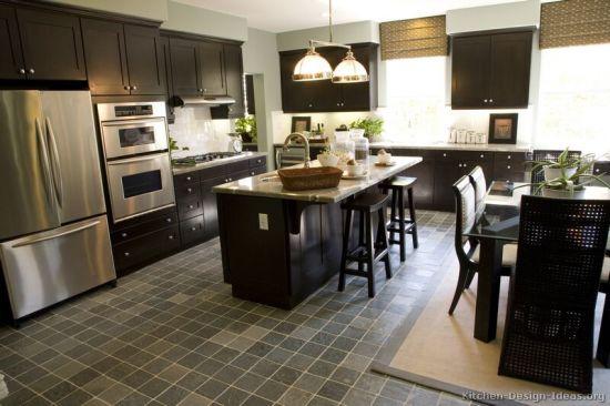Dark Espresso Kitchen Cabinets De3