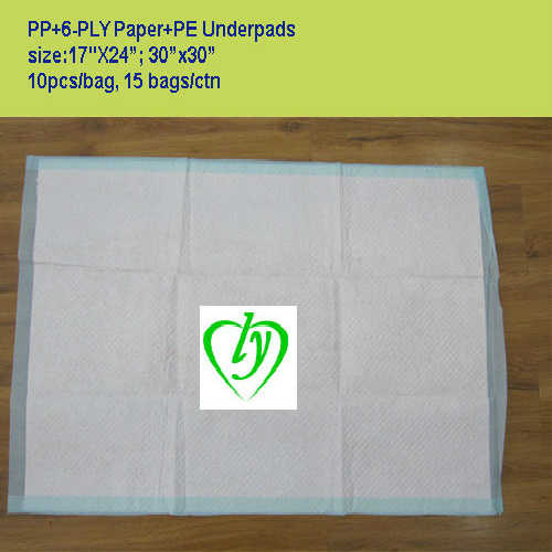 Ly Disposable Absorbent Medical Underpads