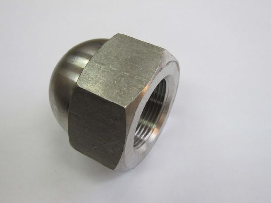 High Polishing Stainless Steel Domed Head Decorative Cap Nut