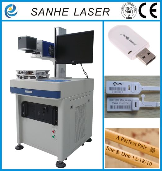 CO2 Laser Marking Machine for Fabric and Adv. Sighs pictures & photos