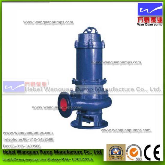 China Wq Non-Clog Submersible Sewage Pump - China