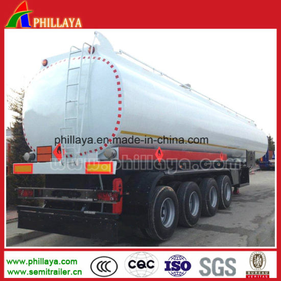 Factory Supply 3 Axle China Fuel Tank Tanker Semi Truck Trailer for Sale pictures & photos