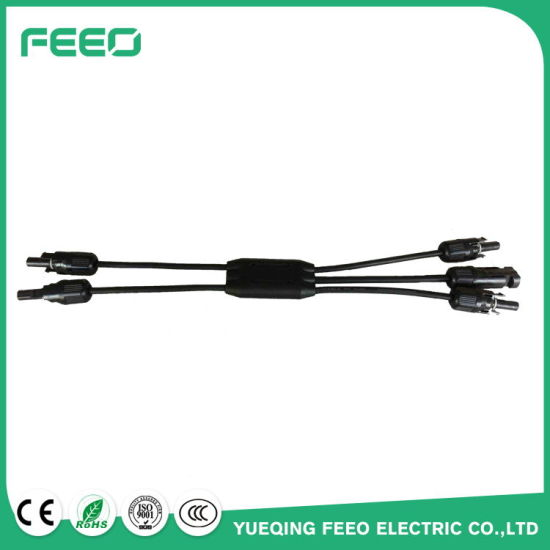 Manufacturer Solar Power Cable Connector Mc4 Y Branch PV Connector for Solar Panels pictures & photos